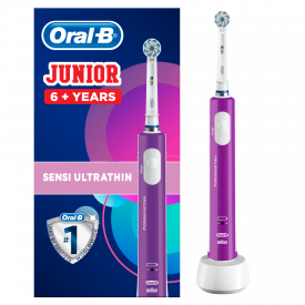 Oral-B Junior Purple Electric Rechargeable Toothbrush