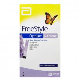 Freestyle Optium Ketone Strips 10