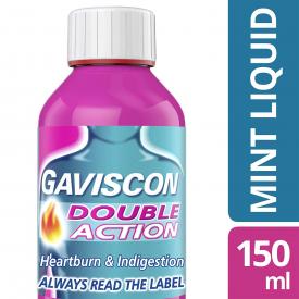 Gaviscon Double Action Liquid Peppermint – 150ml