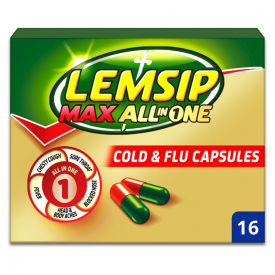 Lemsip Max All In One Cold & Flu - 16 Capsules