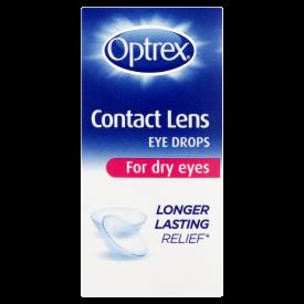 Optrex Contact Lens Dry Eye Drops – 10ml
