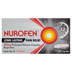 Nurofen Back Pain Relief - 24 x 300mg Capsules