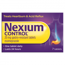 Nexium Control For Heartburn And Acid Reflux 20mg – 7 Tablets