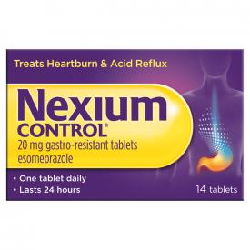 Nexium Control For Heartburn & Acid Reflux 20mg – 14 Tablets