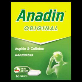 Anadin Original (Aspirin) - 16 Capsules