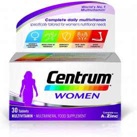 Centrum Women Daily Multivitamins - 30 Tablets