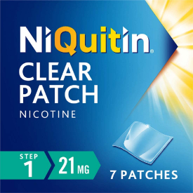 Niquitin Clear (Step 1) - 7 x 21mg Patches