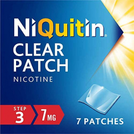 NiQuitin Clear Patch (Step 3) 7 mg - 7 Patches