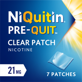 Niquitin Pre-Quit Clear 21mg – 7 Patches