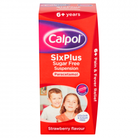 Calpol SixPlus Sugar Free Suspension - 100ml