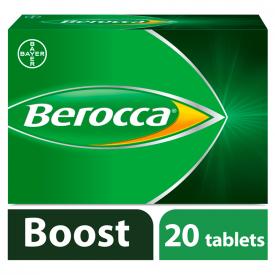 Berocca Boost - 20 Effervescent Tablets