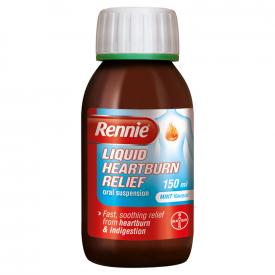 Rennie Liquid Heartburn Relief Mint - 150ml