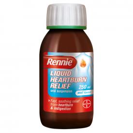 Rennie Liquid Heartburn Relief Mint - 250ml
