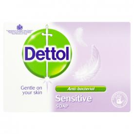 Dettol Sensitive Antibacterial Bar Soap - 100g