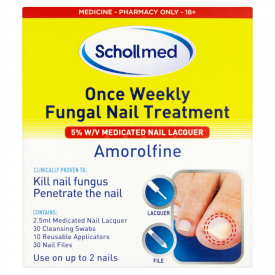 Schollmed Once Weekly Fungal Nail Treatment 5% w/v Nail Lacquer - 3ml