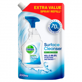 Dettol Antibacterial Surface Cleanser Spray Refill - 550ml