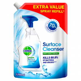 Dettol Anti-Bacterial Surface Cleanser Spray Refill - 1200ml