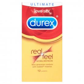 Durex Real Feel - 12 Condoms (3 Pack)