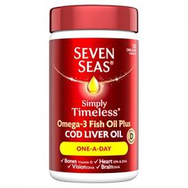 Seven Seas Cod Liver Oil One-A-Day Capsules – 120 Capsules