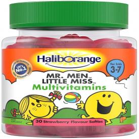 Haliborange Mr Happy Strawberry Multivitamins - 30 Softies