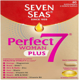 Seven Seas Perfect 7 Woman - 30 Tablets And Capsules