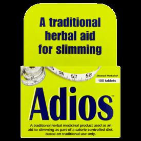 Adios Slimming Aid Coated 100 Tablets