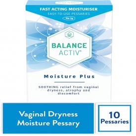 Balance Activ Moisture Plus - 10 Pessaries