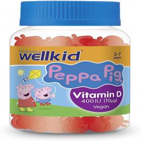 Vitabiotics Wellkid Peppa Pig Vitamin D Vegan - 30 Soft Jellies