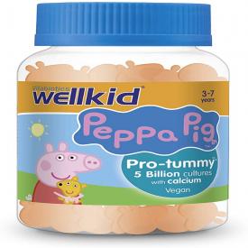 Vitabiotics Wellkid Peppa Pig Pro-tummy Vegan - 30 Soft Jellies
