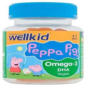 Vitabiotics Wellkid Peppa Pig Omega-3 DHA Vegan - 30 Jellies