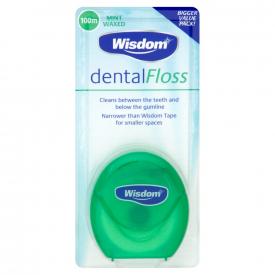 Wisdom Dental Floss - 100m
