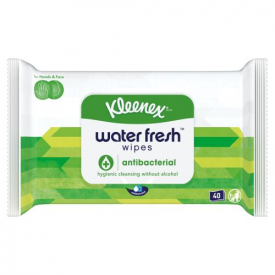 Kleenex Proactive Care Water Fresh Antibacterial Wipes - 40