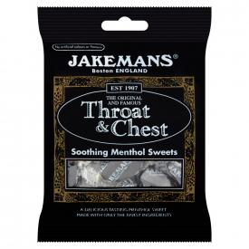 Jakemans Throat & Chest Menthol Sweets 100g