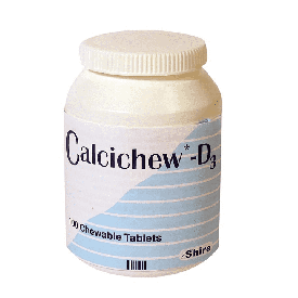 Calcichew Vitamin D3 500/200mg Chewable - 100 Tablets