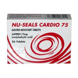 Nu-Seals Cardio 75 – 56 Tablets