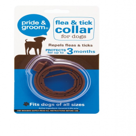 Pride & Groom Universal Flea & Tick Collar For Dogs 3 Months