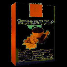 Healthspan Turmeric with Bioperine - 30 Capsules