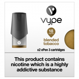 Vype ePen 3 Pods Blended Tobacco - Pack Of 2