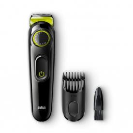 Braun Electric Beard Trimmer & Hair Clipper BT3021