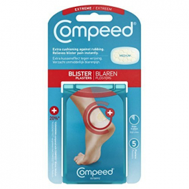 Compeed Extreme Clear Blister Plasters - 5 Plasters