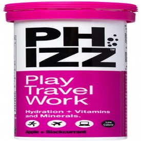 Phizz Multivitamin & Hydration Effervescent Apple and Blackcurrant Flavour - 10 Tablets