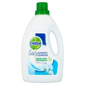 Dettol Laundry Cleanser Fresh Cotton - 1.5L