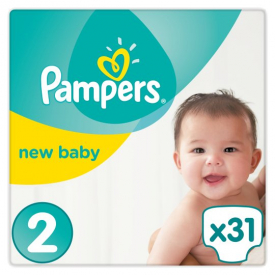Pampers New Baby Mini Size 2 31x