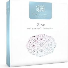 Healthspan Zinc & Vitamin C - 360 Tablets