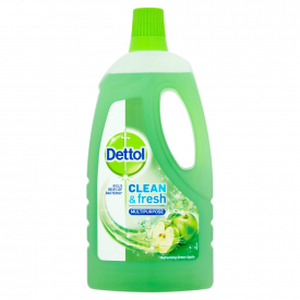 Dettol Clean & Fresh Multipurpose Refreshing Green Apple - 1L