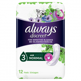 Always Discreet Incontinence Pads Normal - 12