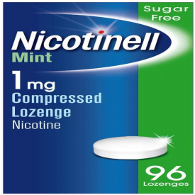 Nicotinell Mint Compressed Lozenges 1mg - Pack of 96