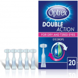 Optrex Double Action Dry & Irritated Eyes Monodose - Pack of 20