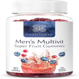 Healthspan Mens Super Fruit Multivitamin Gummies - 30 Tablets