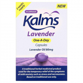Kalms Lavender One A Day - 14 x 80mg Capsules